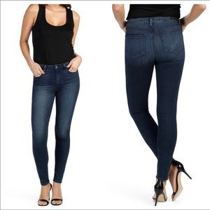 Paige High Rise Hoxton Ultra Skinny Jeans Wilson